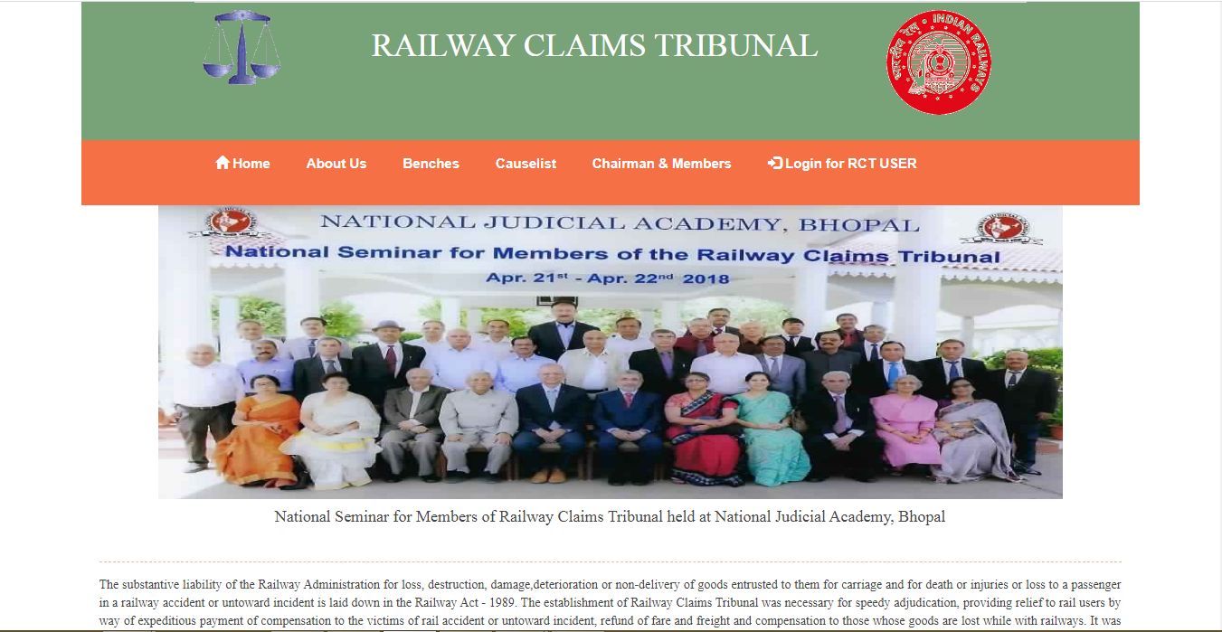 Railway Claims Tribunal
